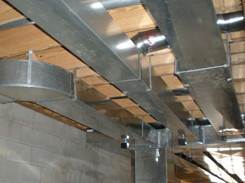 Duct Work Photograph.
